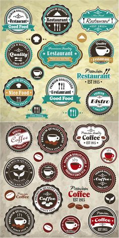 Best vintage/retro labels website - VECTOR GRAPHICS BLOG - FREE templates…