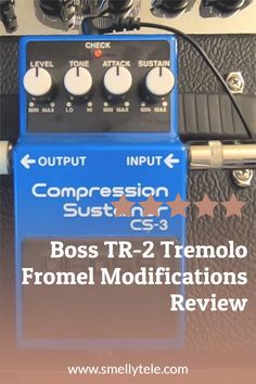 Hi All! I recently completed the Fromel Electronics modifications to a Boss CS-3 Compression Sustainer pedal! If you've considered this upgrade, I highly recommend it. Guitar Reviews, Guitar Gifts, Gift Guide, Guitars, Boss, Electronics, Guitar, Consumer Electronics