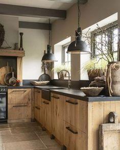 Family Kitchen, Home Decor Kitchen, Interior Design Kitchen, Country Kitchen, New Kitchen, Home Kitchens, Dream Kitchens, Farmhouse Kitchens, Interior Modern