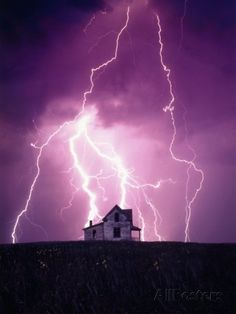 luxury cars - Lightning Behind a Farmhouse Photographic Print by Craig Aurness Art com Lightning Photography, Storm Photography, Nature Photography, Photography Tips, Portrait Photography, Wedding Photography, Lightning Final Fantasy Xiii, Lightning Drawing, Nature Pictures