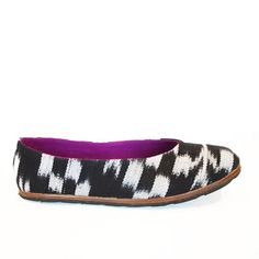 Static Flat Women's Black White, $67, now featured on Fab.