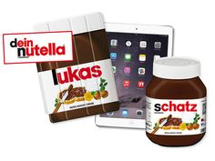 Fuersie.de und nutella verlosen zwei Pakete mit einem iPad air, individualisierter nutella Hülle sowie einem individualisierten Glas im Wert von je 500 Euro.