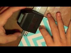 How to Use Border Punches #papercrafts