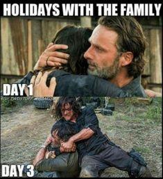 walking dead daryl and rick Walking Dead Memes, Walking Dead Cast, Fear The Walking Dead, Walking Dead Zombies, Twd Memes, Funny Memes, Jokes, Hilarious, Funniest Memes
