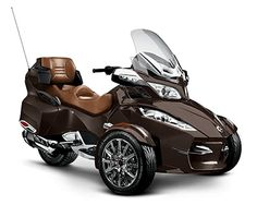 Spyder RT: Luxury 3-Wheeled Motorcycling from Can-Am   Can-Am Roadster