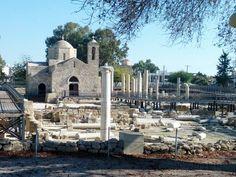 Ruins of St. Paul's Church, Paphos, #Cyprus