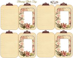 I wanted to design a unique tag fot photos this morning, one you could add photos and carry to show off your blessings. I started . Papel Vintage, Vintage Tags, Vintage Labels, Scrapbook Supplies, Scrapbook Paper, Scrapbooking, Gift Card Boxes, Gift Tags, Printable Tags