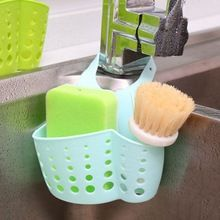 US $1.47 Kitchen Sink Sponge Storage Hanging Basket Bath Storage Tools Adjustable Snap Button Type Drain Rack Faucet Storage Basket D0437. Aliexpress product