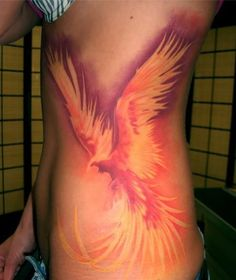 Here we collect the list of 40 Best Phoenix Tattoo Designs For Boys And Girls. The phoenix stands for resurrection and so the phoenix tattoo is incredibly fashionable. The phoenix gets back to life once meeting its final line. Tattoo Girls, Tattoo Designs For Girls, Girl Tattoos, Tatoos, Future Tattoos, New Tattoos, Body Art Tattoos, Exotic Tattoos, Small Tattoos