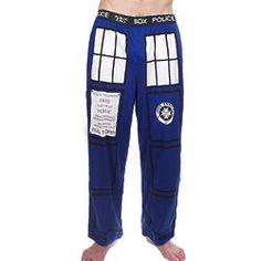 Doctor Who I Am Tardis Lounge Pants