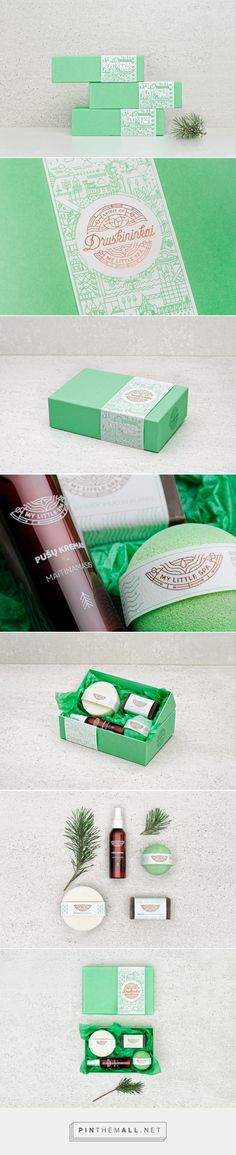 My Little Spa - Packaging of the World - Creative Package Design Gallery - http://www.packagingoftheworld.com/2017/03/my-little-spa.html