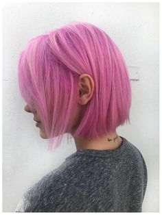 Blushing over this pink hair I did for Valentine's Day : FancyFollicles