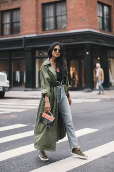 Get the Look: Vintage Jeans + Trench