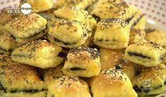 La ricetta degli stuzzicappetito alle olive proposta da Samya a Mattino Cinque il 24 settembre 2013.
