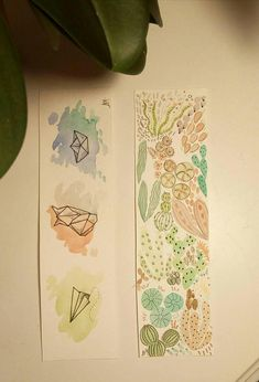 Check out this item in my Etsy shop https://www.etsy.com/listing/570588866/set-of-two-original-watercolor-bookmarks