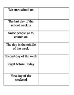 write about a typical day in spanish