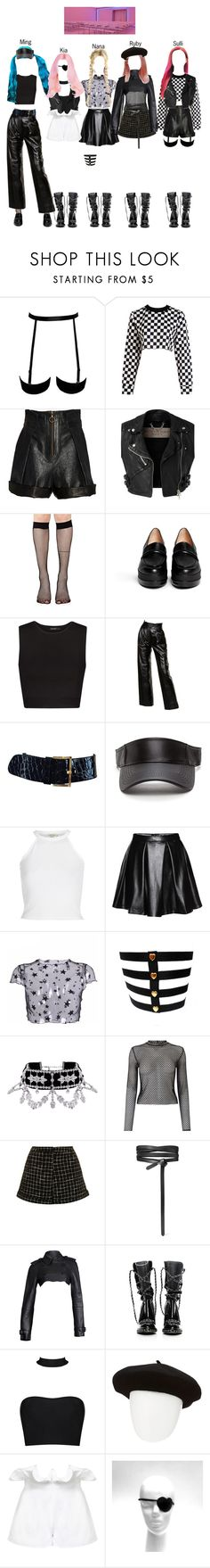 """""""BABY (아기) — 'Incredibly Strange Creatures' MV"""" by officialbaby ❤ liked on Polyvore featuring Philosophy di Lorenzo Serafini, Burberry, Music Legs, Robert Clergerie, MANGO, Yves Saint Laurent, Miss Selfridge, Topshop, Isabel Marant and Chanel"""