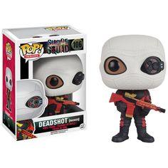 Funko Pop! Movies: Suicide Squad, Deadshot, Masked