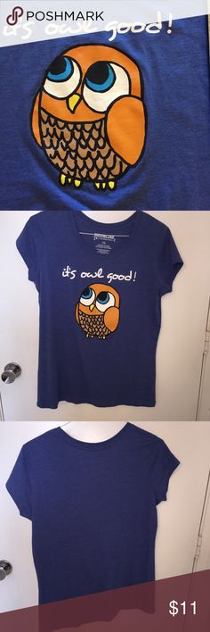 It's owl good t shirt drumline brand XXL T shirt is used with minimal signs of wear. XXL Drumline Tops Tees - Short Sleeve