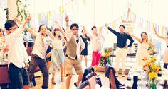 crazuwedding/ ウェディング / 結婚式 / オリジナルウェディング/ オーダーメイド結婚式/フラッシュモブ/flash mob / サプライズ /ダンス / 音楽 / 野外フェス/