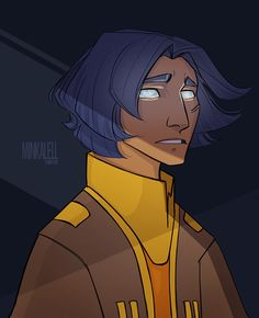 minkalell: haven't drawn my son in a while so i. Star Wars Rebels, Sw Rebels, Ahsoka Tano, Character Illustration, Character Sketches, Character Design, Star Wars Art, Star Trek, Tribal Warrior