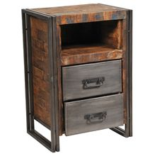 Imported and Rustic Nightstands | Sacred Space Imports