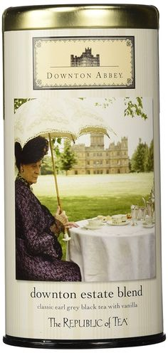 Downton Abbey Estate Blend 'Earl Grey Black Tea with Vanilla' Limited Edition Tin 36 Tea Bags >>> Read more  at the image link. (This is an affiliate link and I receive a commission for the sales)