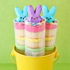 Easter push pops! Get the super easy recipe