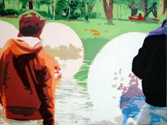 Bubbles im Olympiapark