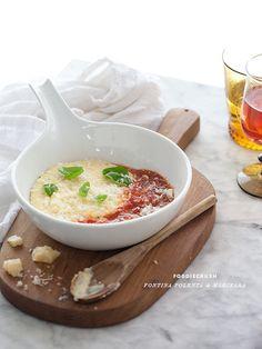 Fontina Polenta with Easy Marinara Sauce (Side Dish)