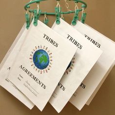 Tribes Agreements: This Knowledge Building activity is taken from the TRIBES program, which focuses on building a positive classroom community. The 4 TRIBES agreements are attentive listening, appreciation, participation and the right to pass. By focusing on these agreements, teachers build a positive community of learners where students feel safe to take risks and explore new ideas.