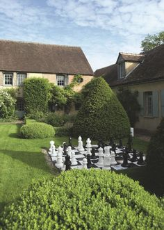 The country house of writer Amanda Sthers