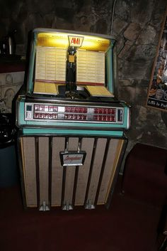 The juke box. I liked them better when they played records.