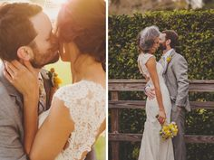sweet and intimate wedding from Dustin at Sunglow Photography