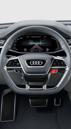 Audi Q8 Concept 2017 Cluster UI Design Car Ui, Dashboard Car, Dashboard Design, Ui Design, Car Interior Design, Automotive Design, Future Concept Cars, Automobile, Audi Cars