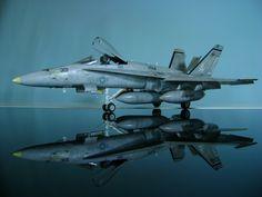 1/48 │ F-18 A/C Hornet │ Hasegawa │ Arif Deniz Toker