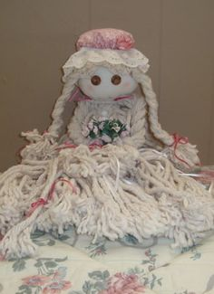 Sweet Lil Mop Doll @Suzette Hungerford Remember these? : )