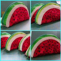Watermellon purses for the Charity Fair