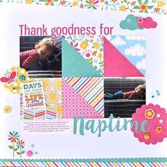 Echo Park I Love Sunshine layout by Ginger Williams - Scrapbook.com
