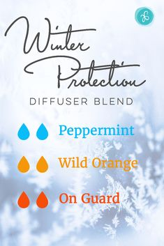 Enhance focus, mood and immunity with this comforting essential oil diffuser blend