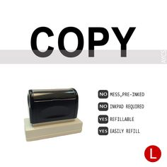 COPY, Pre-Inked Office Stamp, 760310-A