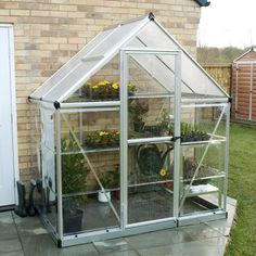 Hybrid 6 Ft W x 4 Ft D Greenhouse Palram Colour: Silver Tunnel Greenhouse, Walk In Greenhouse, Harbor Freight Greenhouse, Commercial Greenhouse, Roof Panels, Side Panels, Polycarbonate Panels, Roll Up Doors, Sliding Panels