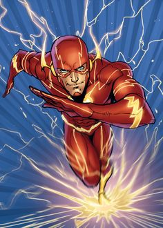 The Comic Ninja - The-Flash by Iban Coello Flash Comics, Arte Dc Comics, Marvel Comics, The Flash New 52, The Flash Art, Dc Speedsters, Flash Drawing, Flash Wallpaper, Flash Barry Allen