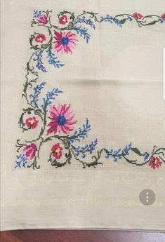 Cross Stitch Heart, Cross Stitch Borders, Cross Stitch Flowers, Cross Stitch Patterns, Hand Embroidery Patterns, Embroidery Stitches, Blackwork, Needlepoint, Diy And Crafts