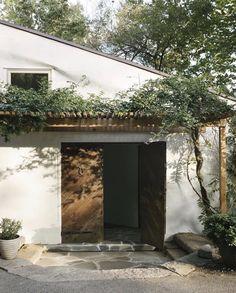 Modern Architecture House, Architecture Details, Building Exterior, Building A House, Building Ideas, Building Design, Villa Design, House Design, Fresco