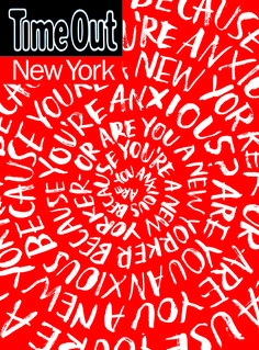 Time Out New York - Angela Southern Custom Lettering