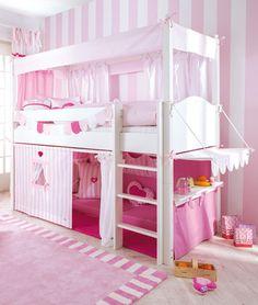 billi bolli hochbett stockbett abenteuerbett schaukel wei spielbett gullibo kinderzimmer in. Black Bedroom Furniture Sets. Home Design Ideas