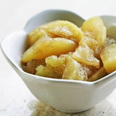 Mom's Baked Apple Slices