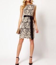 Amazon.com: NoeMie Women Senior Fashion Lace Dress(White): Clothing