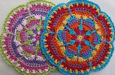 Kaleidoscope Mandala by Lynne Samaan @ Ravelry -- free pattern -- beautiful!
